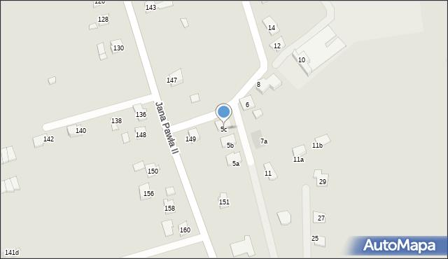 Rzeszów, Ustronna, 5c, mapa Rzeszów