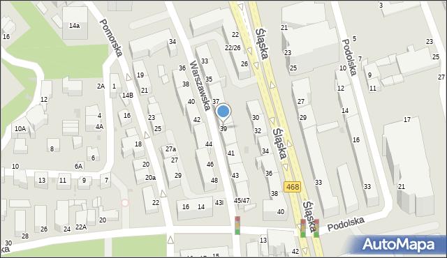 Gdynia, Warszawska, 39, mapa Gdyni
