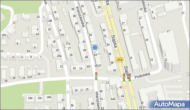 Gdynia, Warszawska, 43, mapa Gdyni