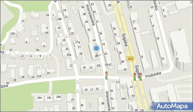 Gdynia, Warszawska, 48, mapa Gdyni