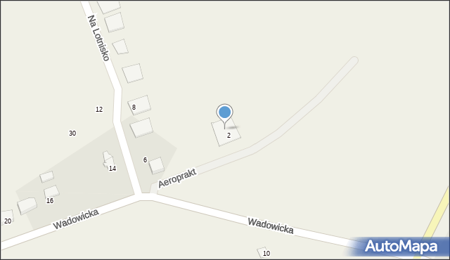 Gierałtowiczki, Wadowicka, 4, mapa Gierałtowiczki