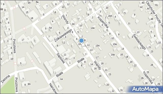 Jaworzno, Wandy, 12, mapa Jaworzno