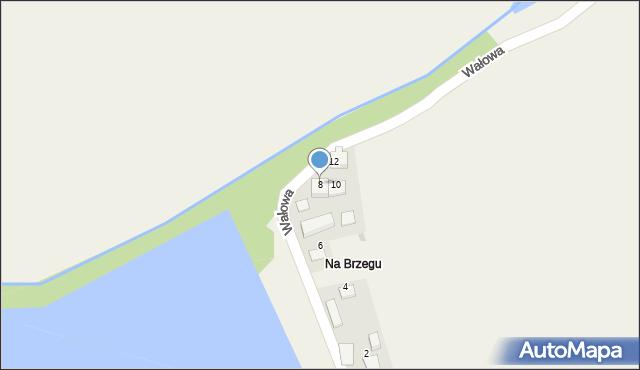 Las, Wałowa, 8, mapa Las