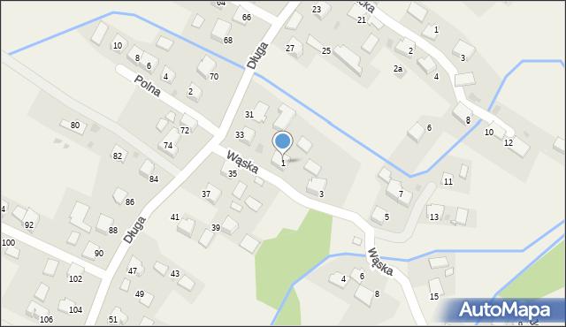 Przeciszów, Wąska, 1, mapa Przeciszów