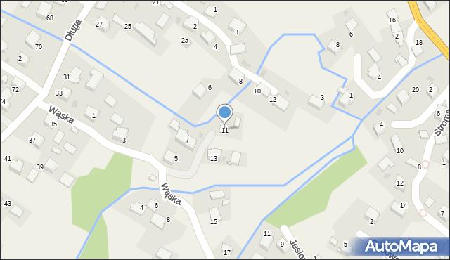 Przeciszów, Wąska, 11, mapa Przeciszów