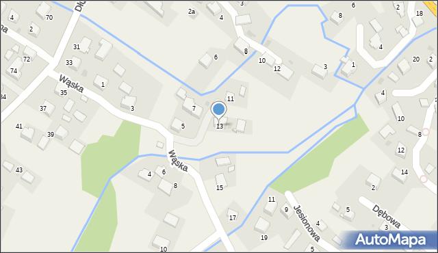 Przeciszów, Wąska, 13, mapa Przeciszów