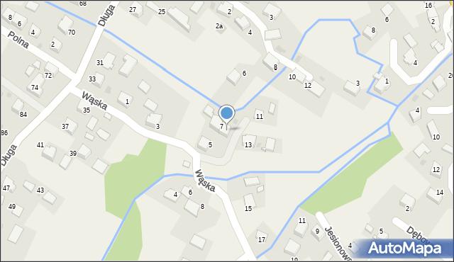 Przeciszów, Wąska, 9, mapa Przeciszów