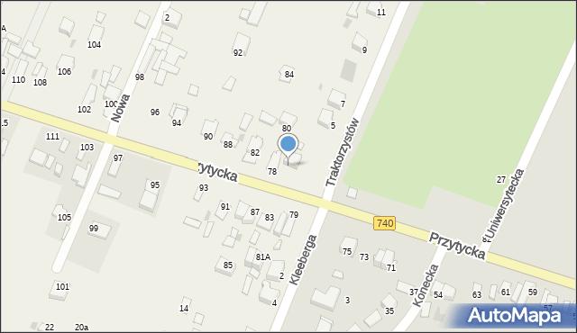 Wacyn, Wacyn, 28B, mapa Wacyn