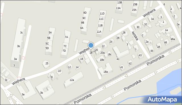 Gdańsk, Wejhera Jakuba, 18, mapa Gdańska
