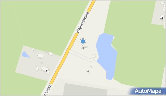 Kębłowo, Wejherowska, 8, mapa Kębłowo