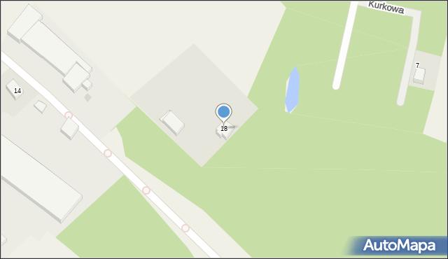 Luzino, Wejherowska, 18, mapa Luzino
