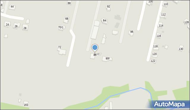 Rzeszów, Wetlińska, 86, mapa Rzeszów