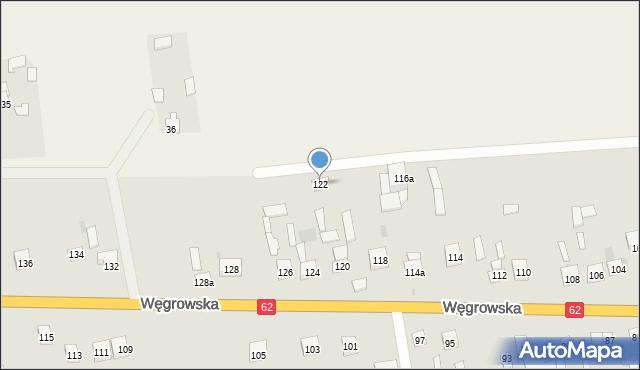 Sokołów Podlaski, Węgrowska, 122, mapa Sokołów Podlaski