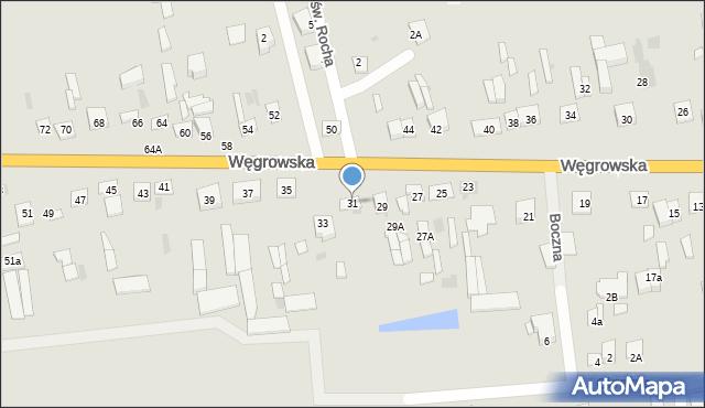 Sokołów Podlaski, Węgrowska, 31, mapa Sokołów Podlaski