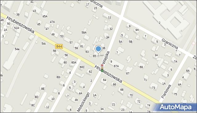 Chełm, Wiejska, 38, mapa Chełma