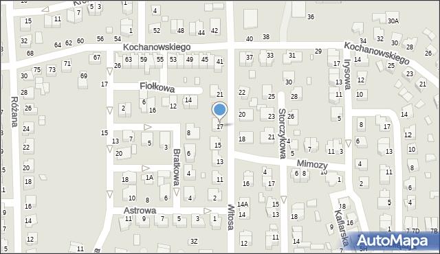 Chełm, Witosa Wincentego, 17, mapa Chełma
