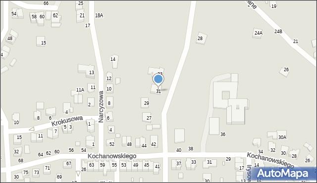 Chełm, Witosa Wincentego, 31, mapa Chełma