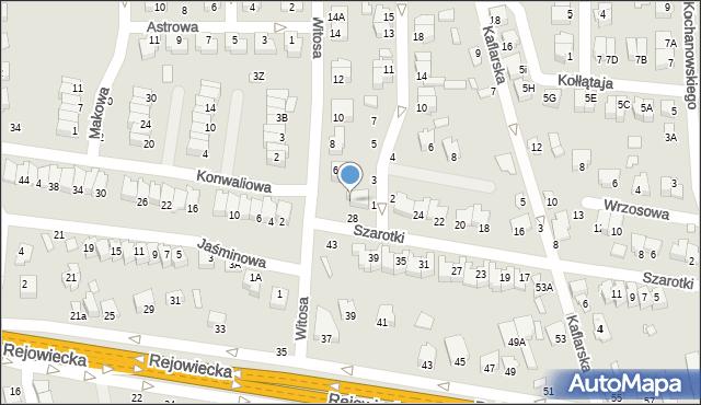 Chełm, Witosa Wincentego, 4, mapa Chełma