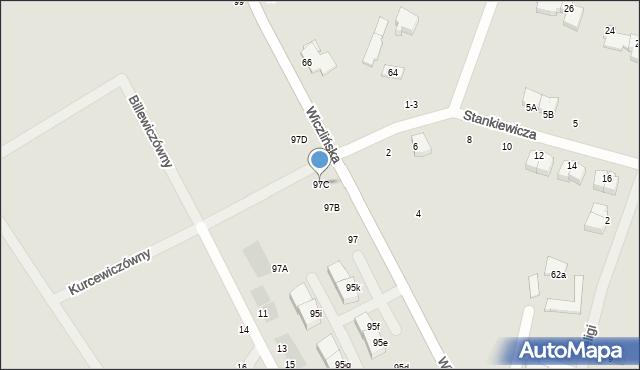 Gdynia, Wiczlińska, 97C, mapa Gdyni