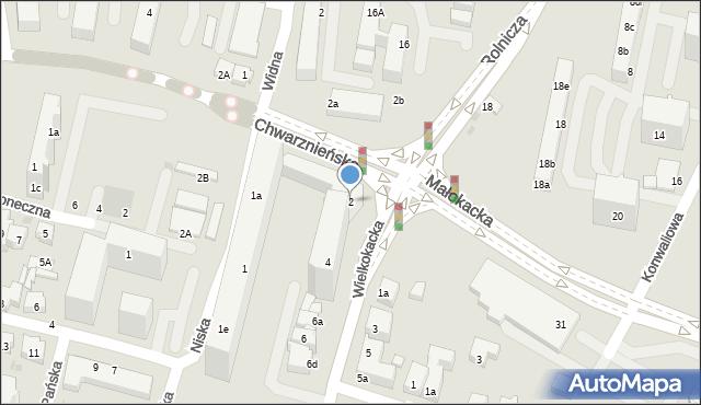 Gdynia, Wielkokacka, 2, mapa Gdyni