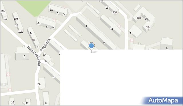 Gdynia, Widna, 7, mapa Gdyni