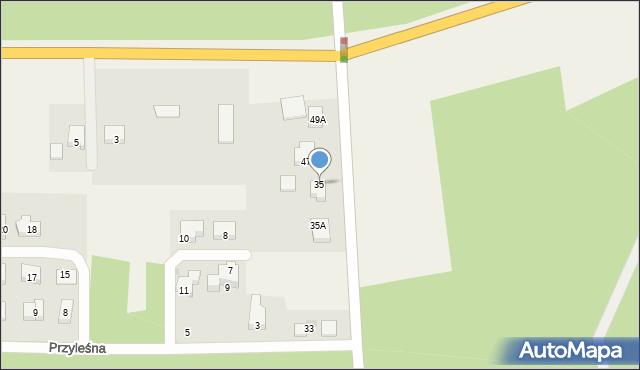 Luzino, Wilczka, 35, mapa Luzino