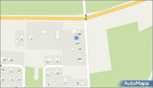 Luzino, Wilczka, 47, mapa Luzino
