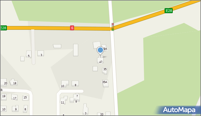 Luzino, Wilczka, 49, mapa Luzino