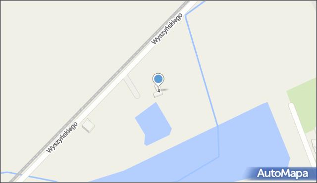 Nowa Wieś Ełcka, Wierzbowa, 4, mapa Nowa Wieś Ełcka