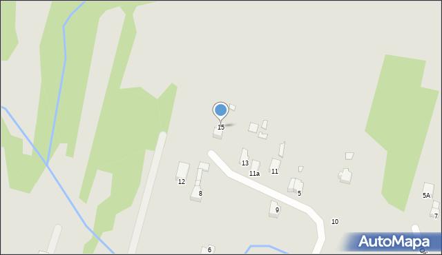Poręba, Wiedzy, 15, mapa Poręba