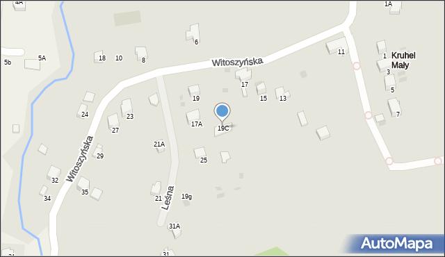 Przemyśl, Witoszyńska, 19C, mapa Przemyśla