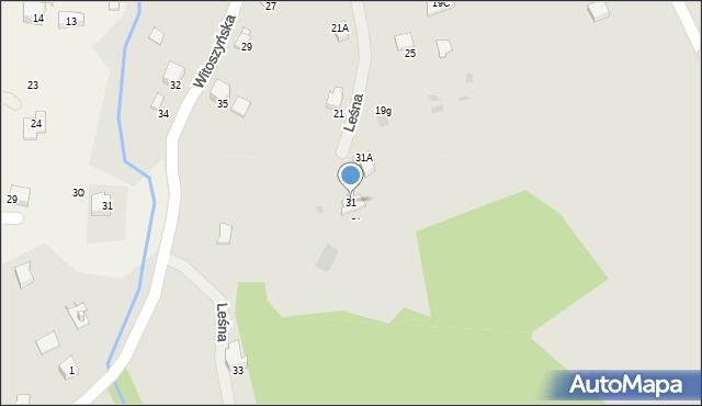 Przemyśl, Witoszyńska, 31, mapa Przemyśla