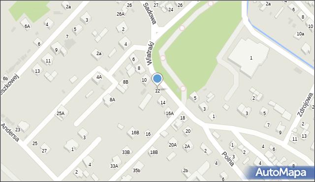 Sokołów Podlaski, Wiatraki, 12, mapa Sokołów Podlaski