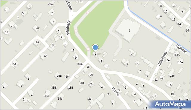 Sokołów Podlaski, Wiatraki, 5, mapa Sokołów Podlaski