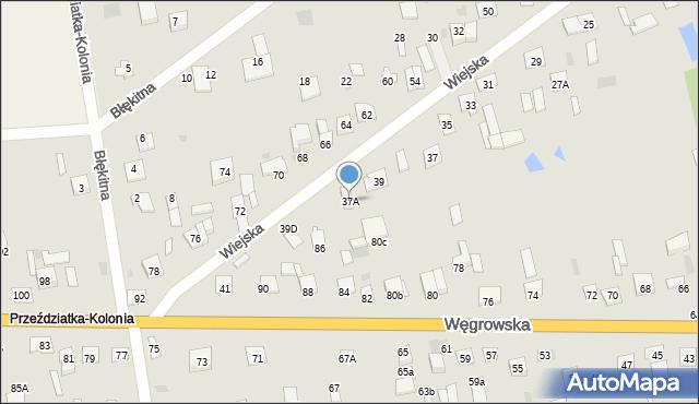 Sokołów Podlaski, Wiejska, 37A, mapa Sokołów Podlaski