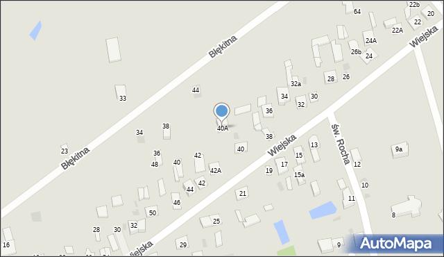 Sokołów Podlaski, Wiejska, 40A, mapa Sokołów Podlaski