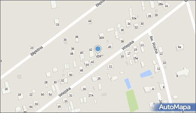 Sokołów Podlaski, Wiejska, 42A, mapa Sokołów Podlaski