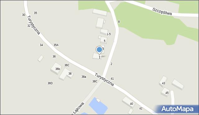 Toruń, Wieżowa, 1, mapa Torunia