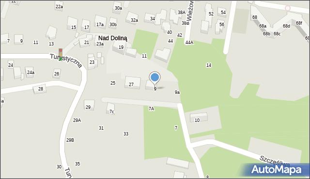 Toruń, Wieżowa, 9, mapa Torunia