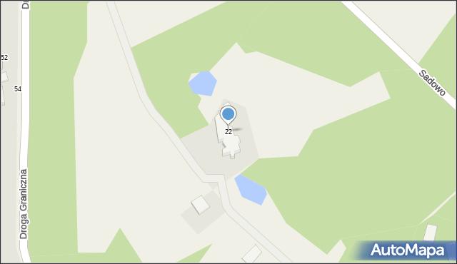 Wielkie Lniska, Wielkie Lniska, 22, mapa Wielkie Lniska