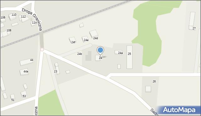 Wielkie Lniska, Wielkie Lniska, 24, mapa Wielkie Lniska