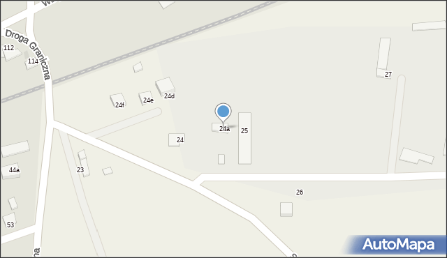 Wielkie Lniska, Wielkie Lniska, 24a, mapa Wielkie Lniska