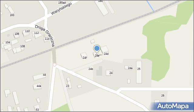 Wielkie Lniska, Wielkie Lniska, 24e, mapa Wielkie Lniska