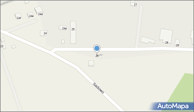 Wielkie Lniska, Wielkie Lniska, 26, mapa Wielkie Lniska