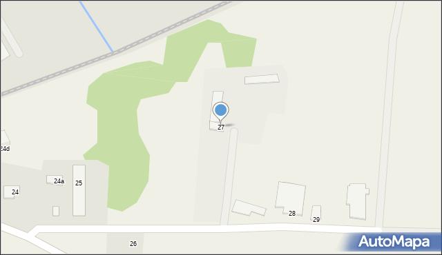 Wielkie Lniska, Wielkie Lniska, 27, mapa Wielkie Lniska