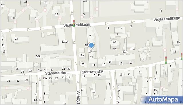 Gdynia, Władysława IV, 13, mapa Gdyni
