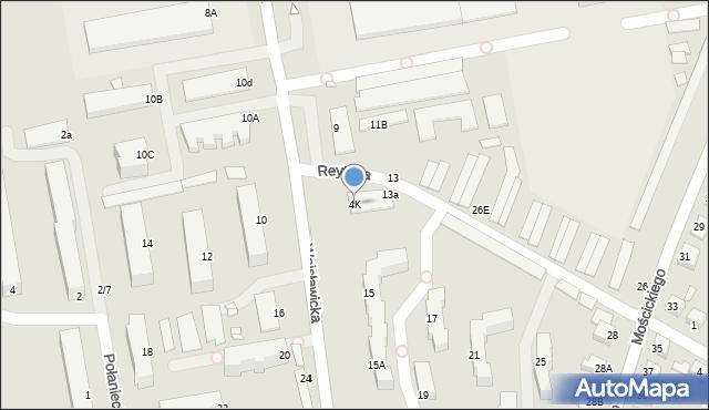 Chełm, Wojsławicka, 4K, mapa Chełma