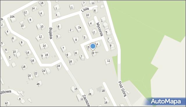 Limanowa, Wójtowicza, 6, mapa Limanowa