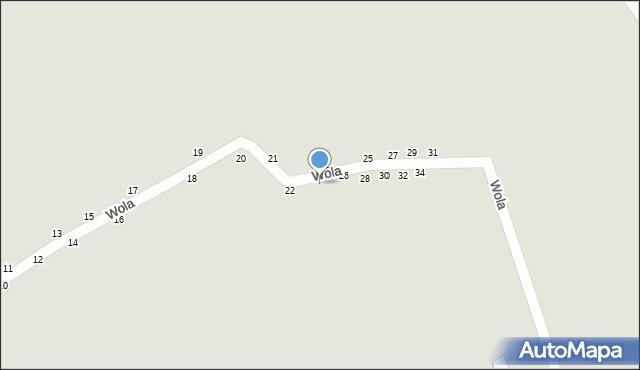 Przemyśl, Wola, 24, mapa Przemyśla