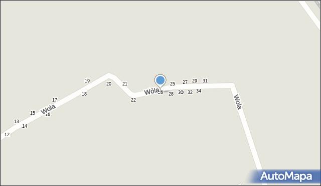 Przemyśl, Wola, 26, mapa Przemyśla